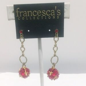 Francesca's Collect fable drop earrings